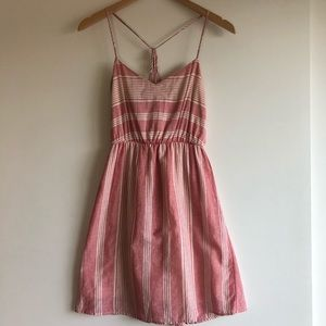 3/$25 SALE Everly Red and White Striped Sundress